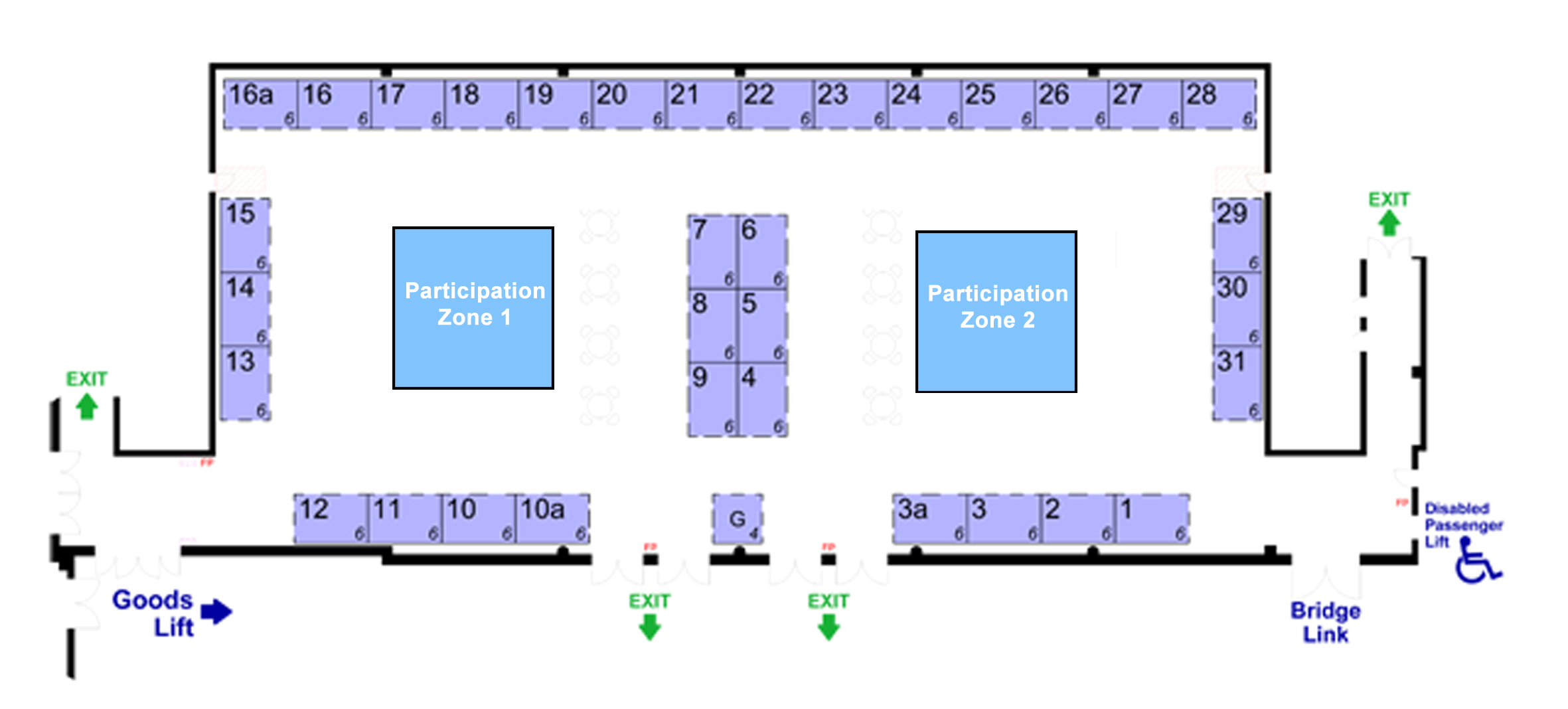 New Year's Resolution Show Floor Plan